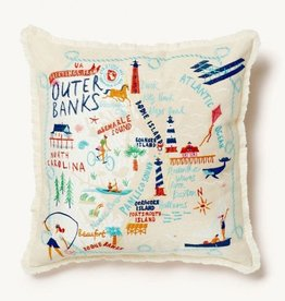 Spartina Outer Banks Embroidered Pillow