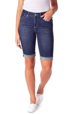 Jag Nina Mid Rise Bermuda Short Night Breeze