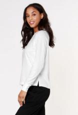 Bobi Tri Blend Sweatshirt Ivory