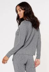 Bobi Tri Blend Sweatshirt Grey