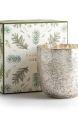 Illume Balsam & Cedar Luxe Sanded Mercury Glass Candle