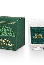 Illume Merry Christmas Boxed Votive Juniper Moss