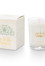 Illume Joy to the World Boxed Votive Juniper Moss