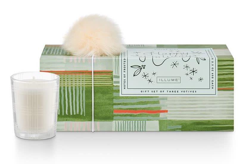 Illume Make Merry Votive Set Winter Mint