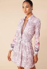 Hale Bob Shirt Dress Blush