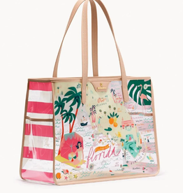 Spartina Florida Clear Beach Tote