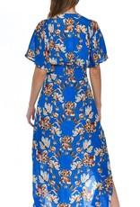 Daphne Dress Cobalt
