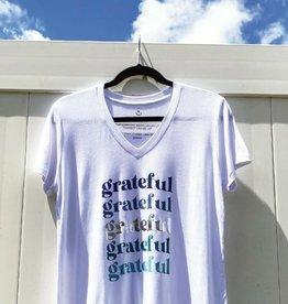 Words Count Grateful Tee