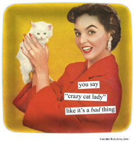Anne Taintor Mini Tray Cat Lady
