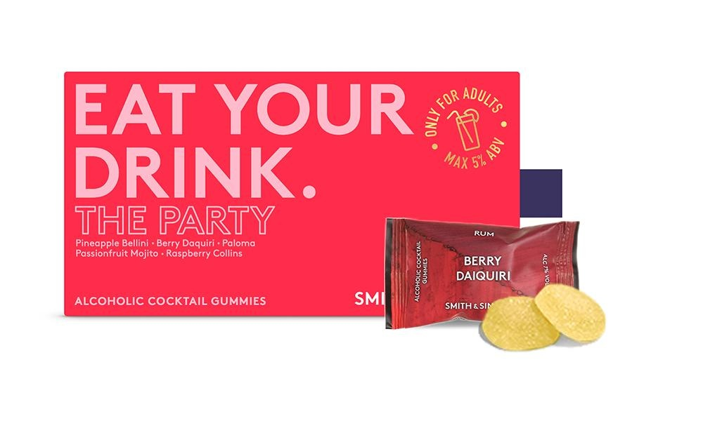 Smith & Sinclair The Party Alcoholic Cocktail Gummies