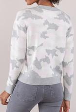 Caroline Grace Nadia Pink Camo Pullover