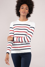 Caroline Grace Sail Away Stripe Pullover