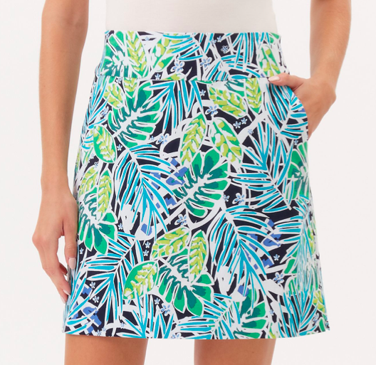 Up Skort Multi Palm