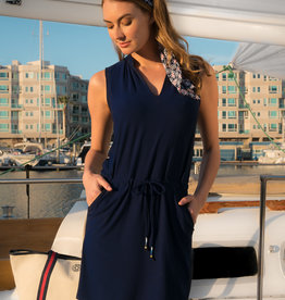 Helen Jon Sanibel Dress Navy