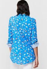 Velvet Heart Elisa Shirt Blue Daisy