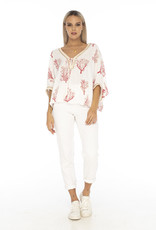 Skemo Miami Top Coral Reef Red