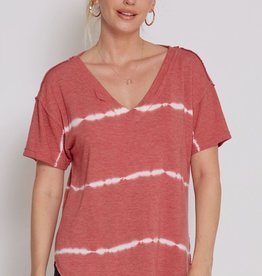 Another Love Lucia Tee Wild Rose