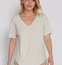 Another Love Lucia Tee  White Sand