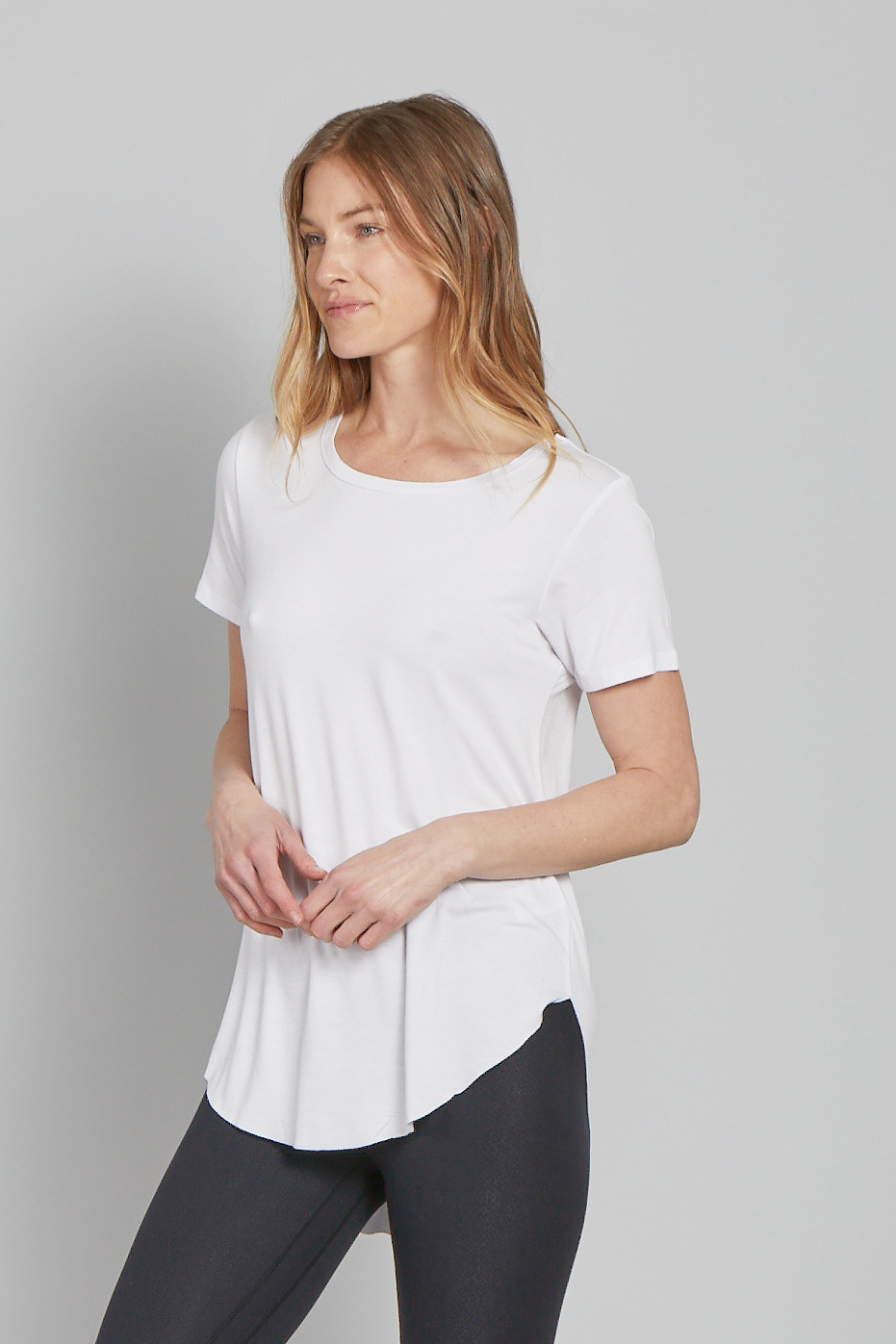 Another Love Julie Crew Neck Tee White