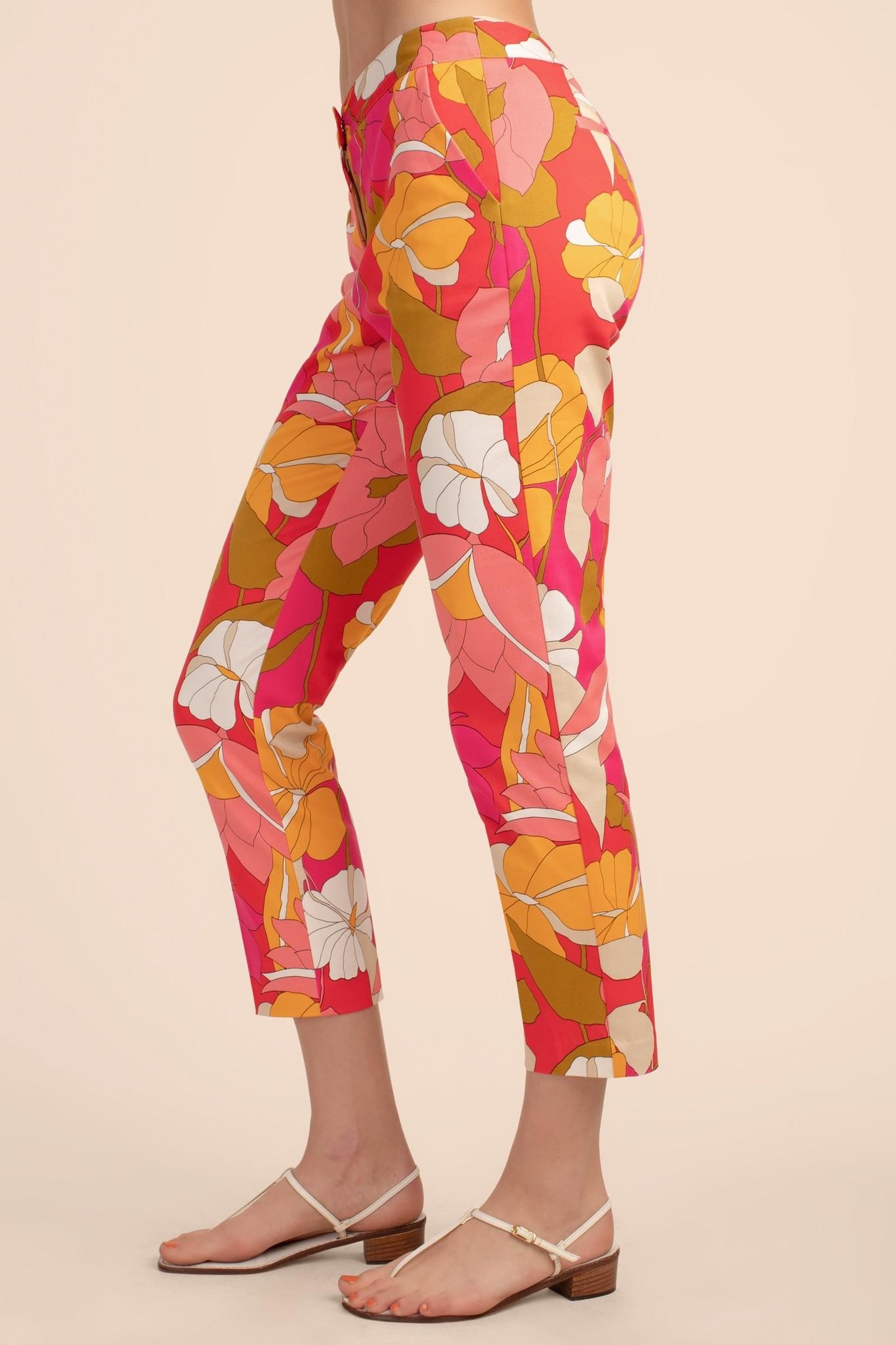 Trina Turk Larkin Pant Boca Chica Floral