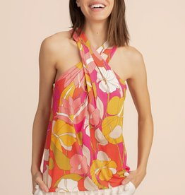 Trina Turk Key Largo Top Floral Multi