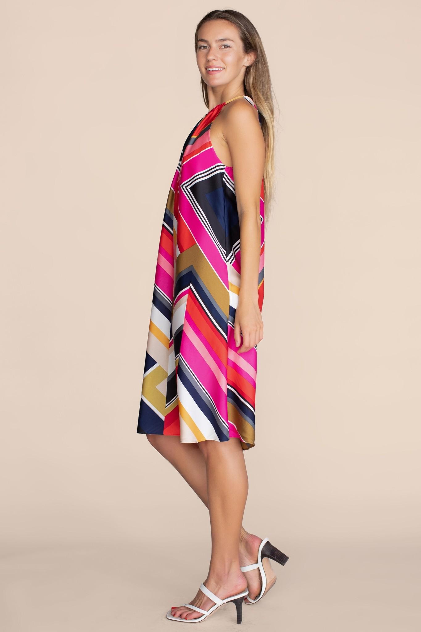 Trina Turk Marquesa Halter Dress Coconut Point