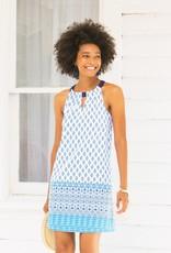 Cabana Life Seascape Sleeveless Shift Dress