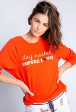 PJ Salvage Coffee + Canines Dog Mother Coffee Lover Top