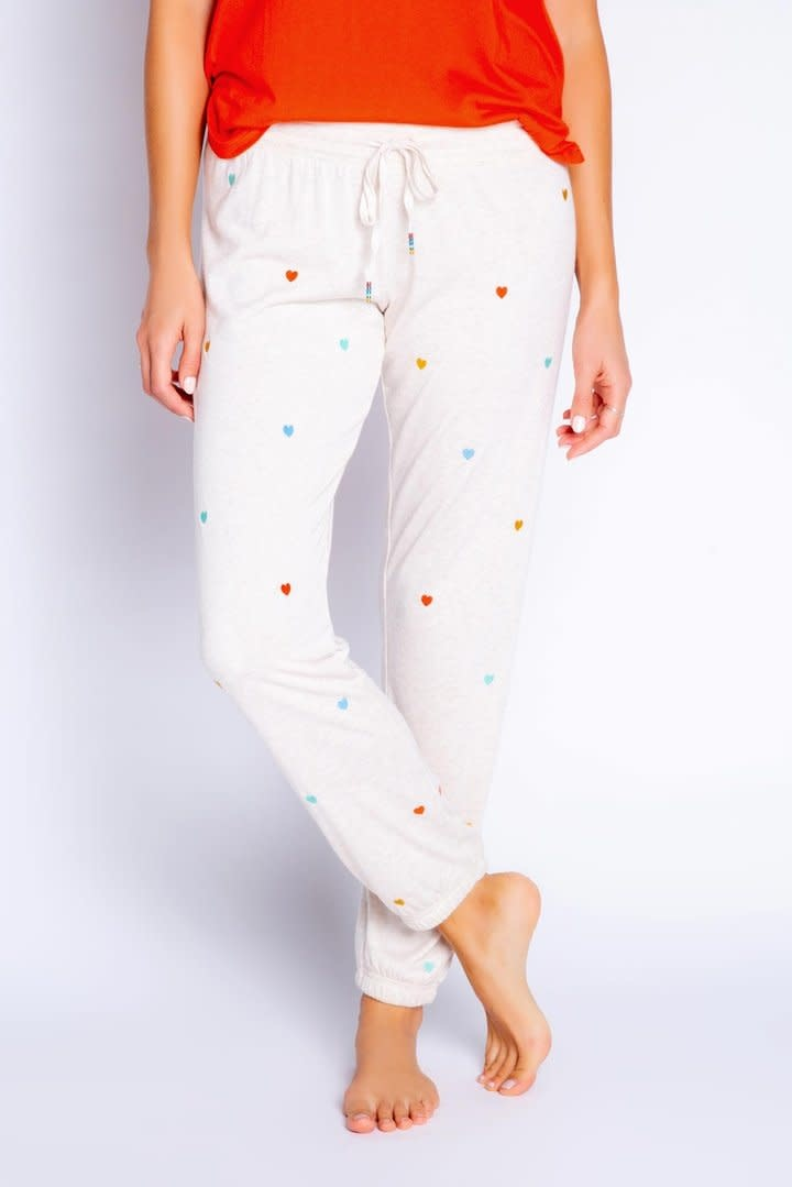 PJ Salvage Mini Hearts Jogger