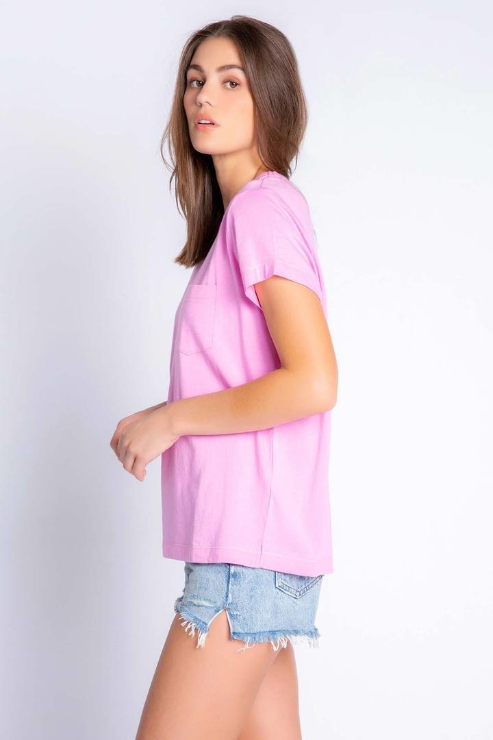 PJ Salvage Back To Basics Tee Lilac Rose