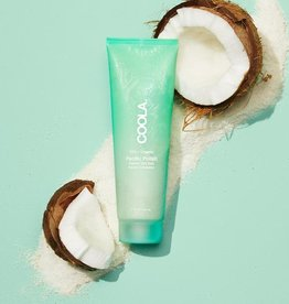 Coola Pacific Polish Gentle Sea Salt Facial Exfoliator