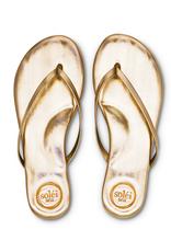 Solei Sea Metallic Gold Flip Flop
