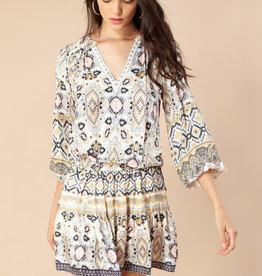 Hale Bob Oona Dress Ivory