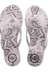 Solei Sea Python Flip Flop