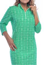 Katherine Way Doral Dress Maze Green