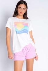 PJ Salvage Rainbow Sun Tee