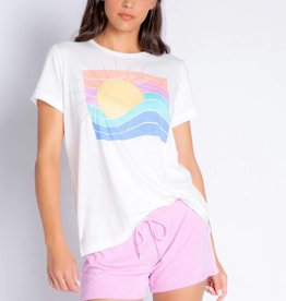 PJ Salvage Rainbow Sun Tee