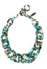Jewelry Tortoise Links Collar Necklace