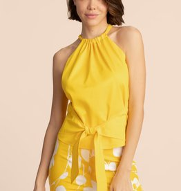 Trina Turk Mika Top Yellow