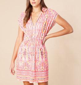 Hale Bob Ellia Dress Coral