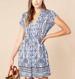 Hale Bob Ellia Dress Blue