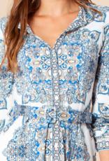 Hale Bob Marie Shirtdress Blue