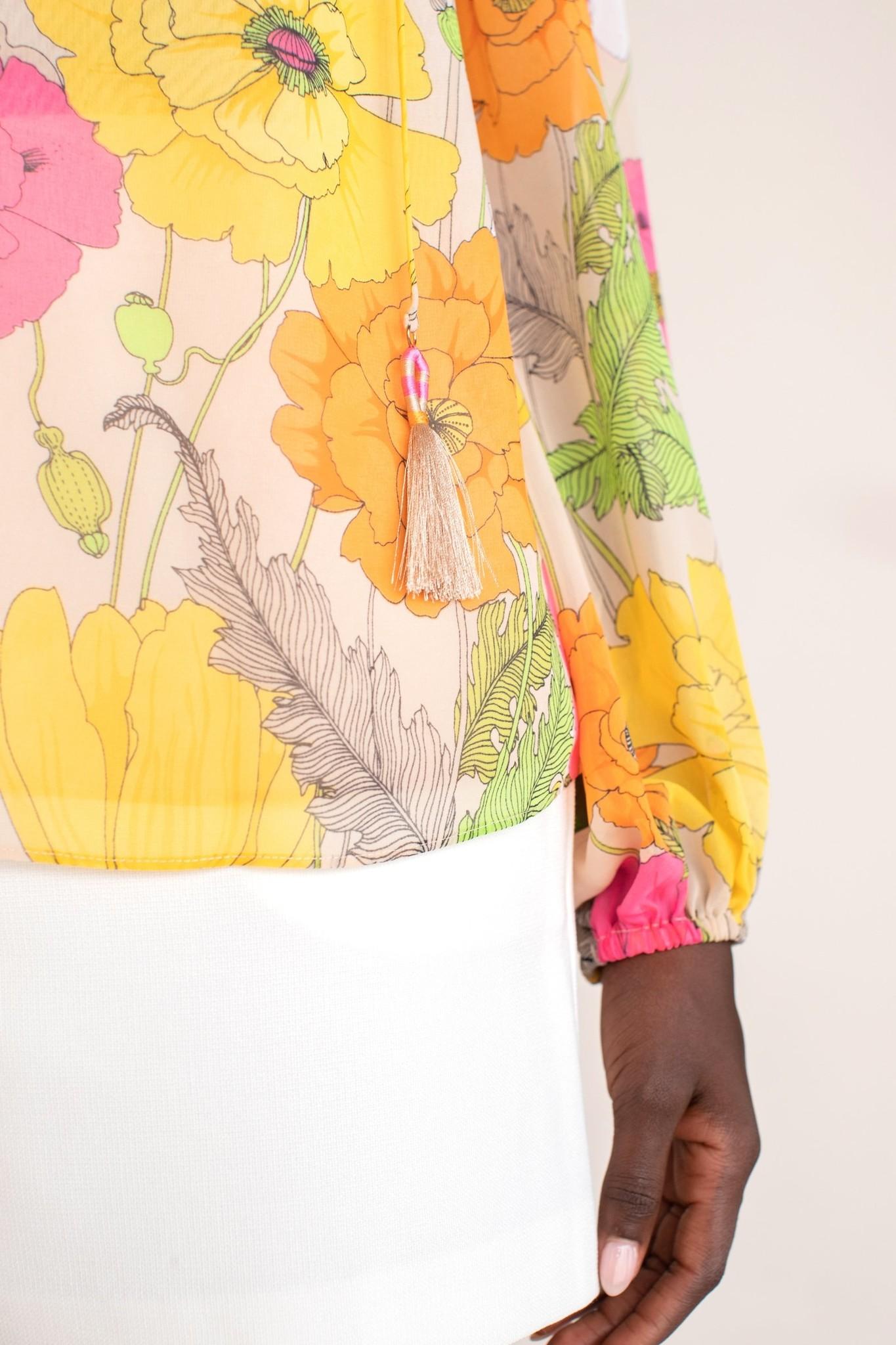 Trina Turk Sunny Blooms Watson Top