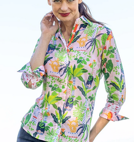 Dizzy Lizzie Rome Shirt Tropical