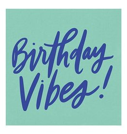Slant Birthday Vibes Napkins 20 CT