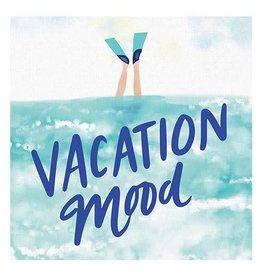 Slant Vacation Mood Napkins 20 CT