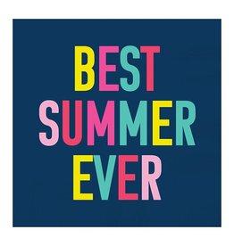 Slant Best Summer Ever Napkins 20 CT