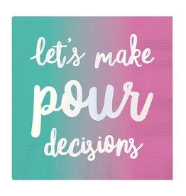 Slant Lets Make Pour Decisions