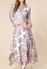 Hale Bob Maxi Wrap Dress
