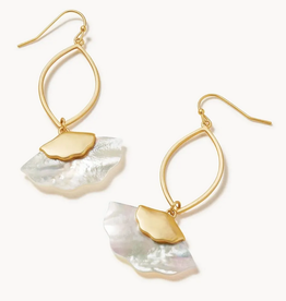 Spartina Buttercup Earrings White